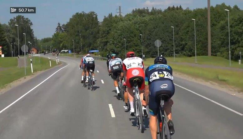 Baltijas čempionāts šosejas riteņbraukšanā. Sacensību ieraksts