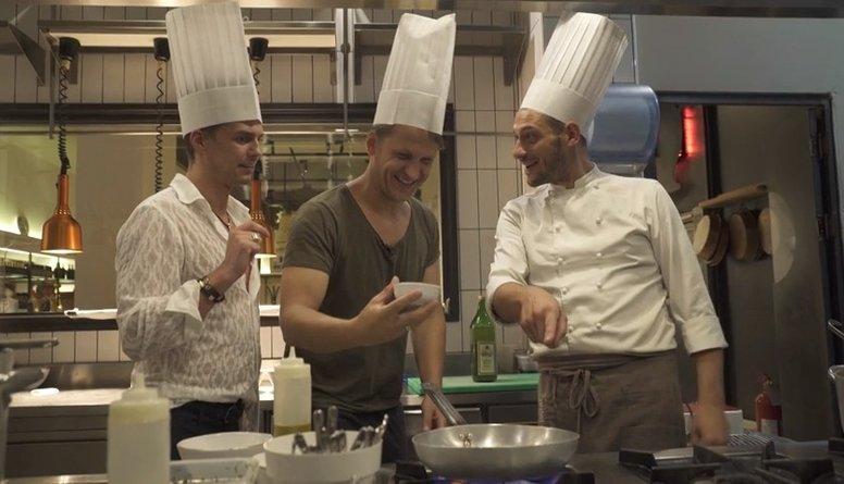 Rešetins tagad strādā restorānā Milānā!?