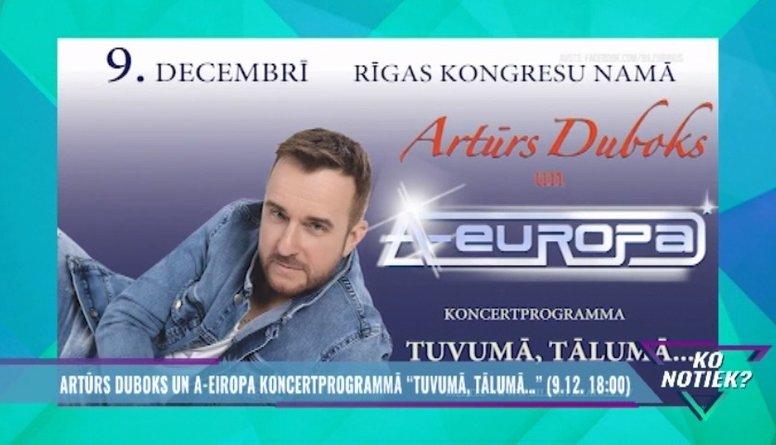 """A-Eiropa atgriežas ar koncertprogrammu """"Tuvumā, tālumā.."""""""