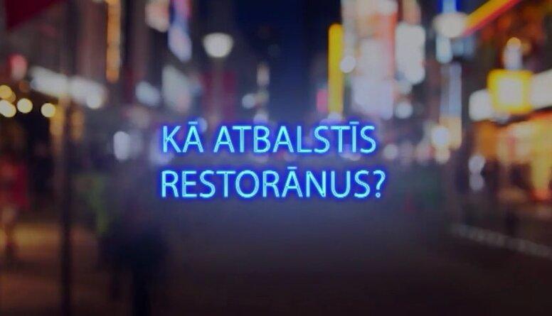 Tvitersāga: Kā atbalstīs restorānus?