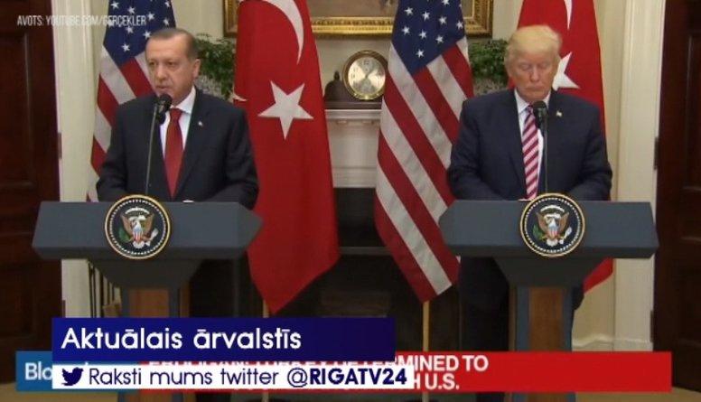 Tramps sola Turcijai ekonomisku sagrāvi, ja tā uzbruks kurdiem
