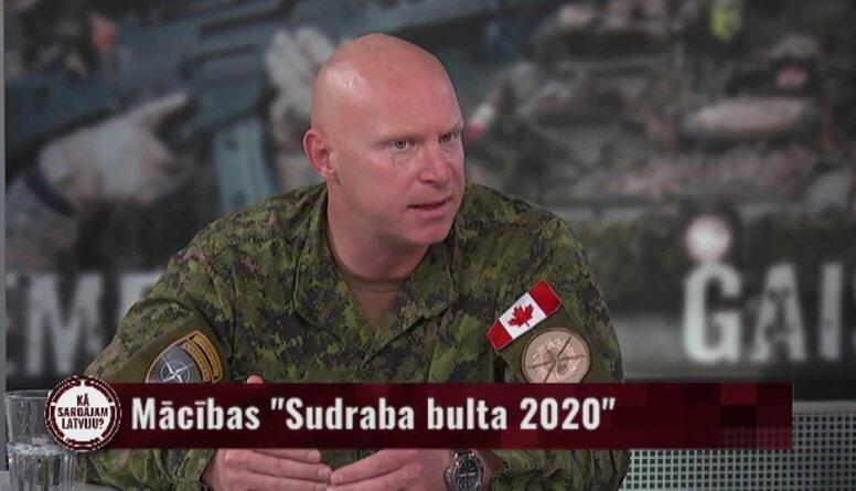 Komandieris par NATO kaujas grupu Latvijā