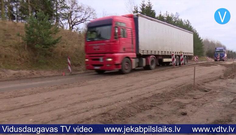 Rīgas ielas posmā, Jēkabpilī paredzēts ieklāt asfalta apakškārtu