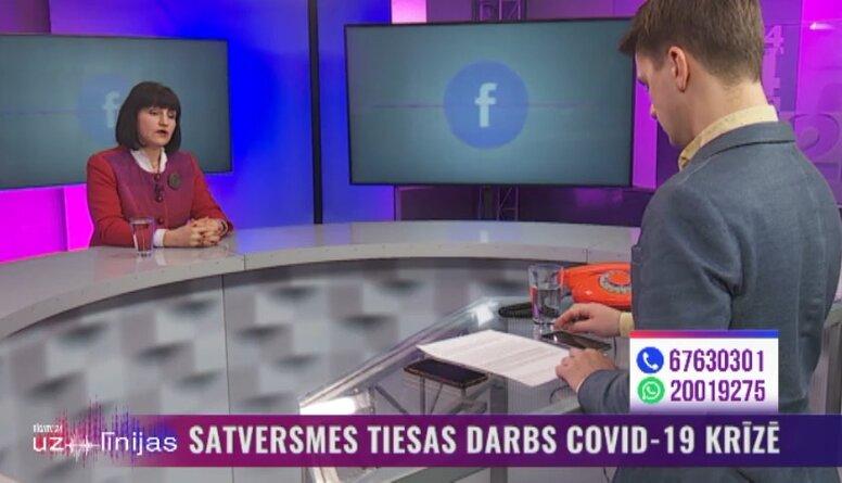 Osipova: Esam ļoti daudz izdarījuši, lai Latvijā nebūtu negodīgu tiesnešu