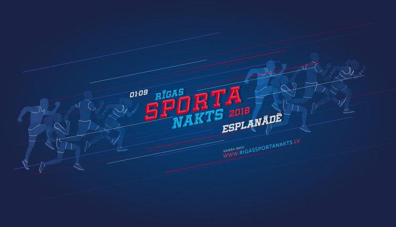 Rīgas Sporta Nakts 2018 Esplanādē