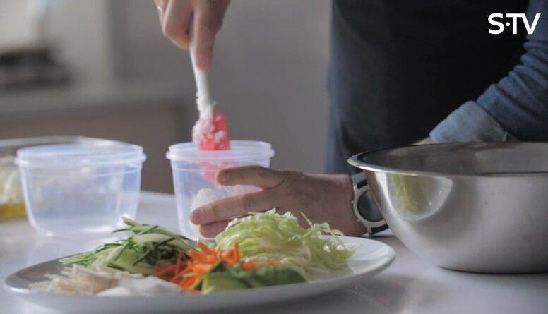 """Garšīga un veselīga pusdienu recepte līdzņemšanai - """"Buddha Bowl"""""""