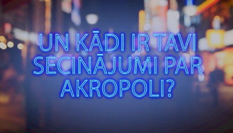 Tvitersāga: Un kādi ir tavi secinājumi par Akropoli?