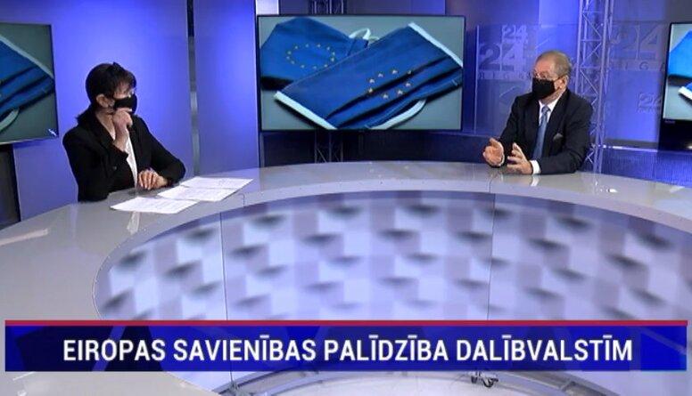 Ameriks: Latvija var vēl aizņemties 2 miljardus eiro