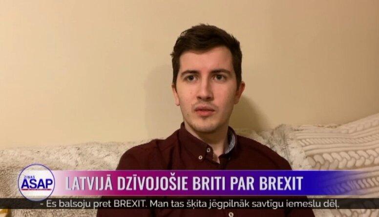 Latvijā dzīvojošie briti par Brexit