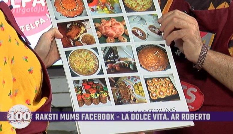 Dūla Katrīna Puriņa-Liberte atrāda savas ģimenes svarīgāko recepšu kalendāru