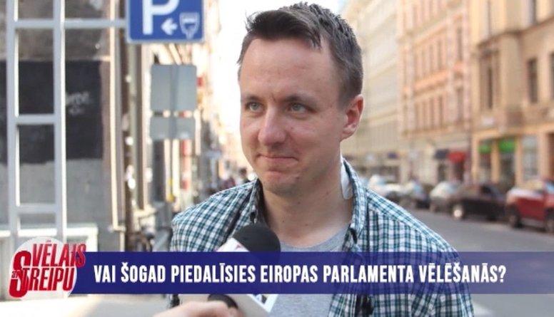 Aptauja: Vai piedalīsies EP vēlēšanās?