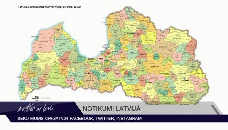Pēc administratīvi teritoriālās reformas Latvijā būs 2 jaunas pilsētas