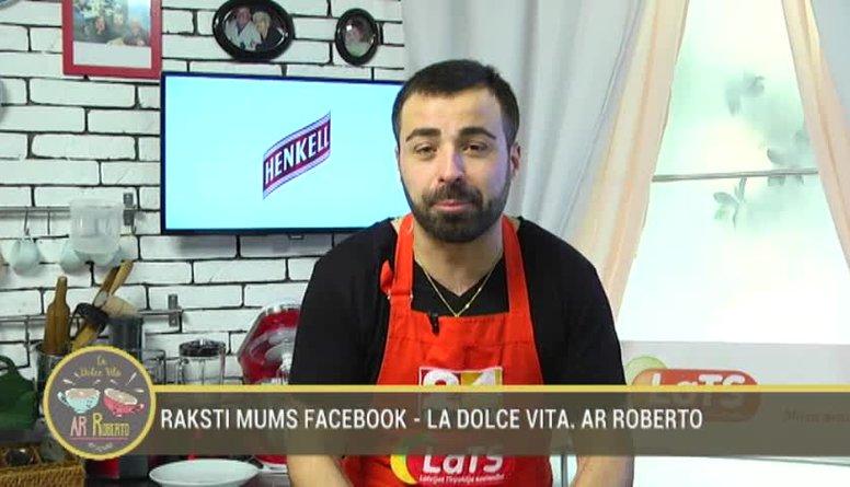 03.01.2017 La Dolce Vita. Ar Roberto 1. daļa