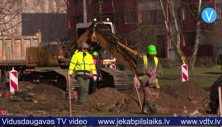 Draudzības alejas posmā nofrēzēts asfalts