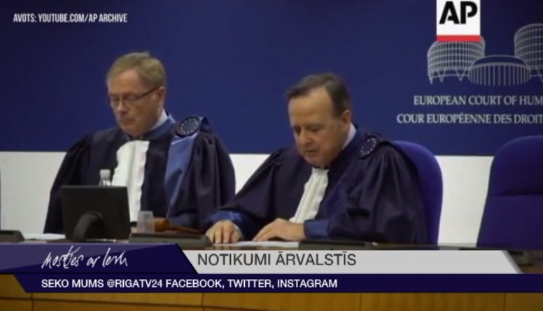 Krievija ir Eiropas Cilvēktiesību tiesā zaudēto prāvu līdere