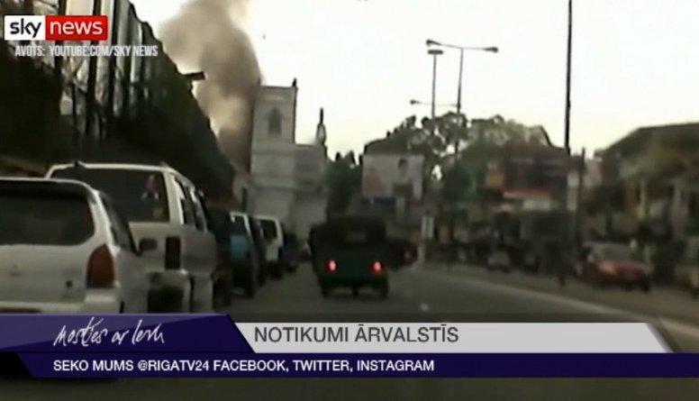 Šrilankā nogranduši vēl divi sprādzieni