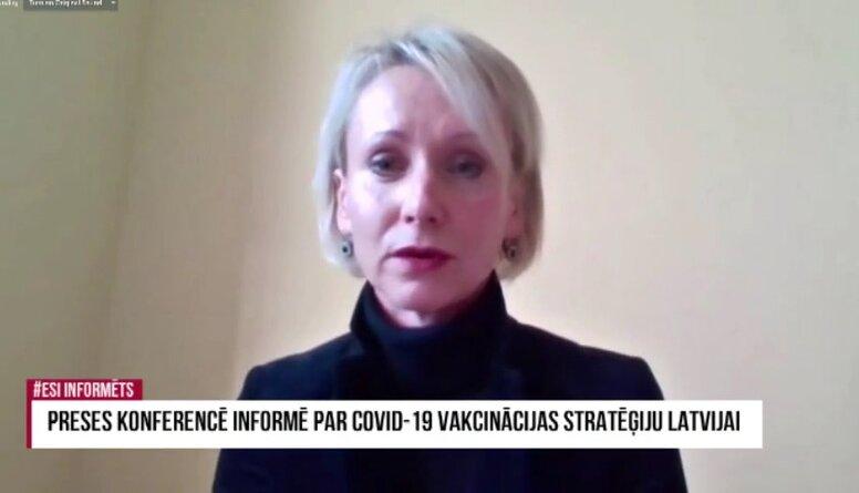 Speciālizlaidums: Informē par Covid-19 vakcīnas stratēģiju Latvijai