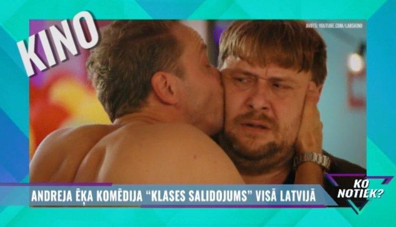 """Andreja Ēķa komēdija """"Klases salidojums"""" visā Latvijā!"""