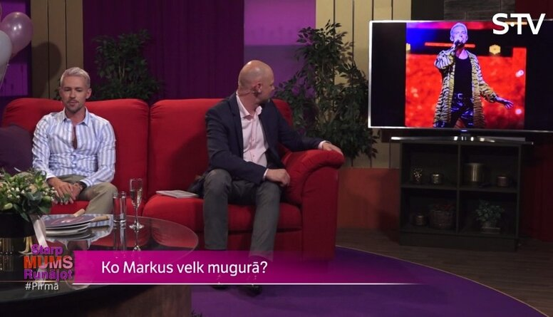 Markus Riva par savām drēbēm: bieži atdodu labdarībai