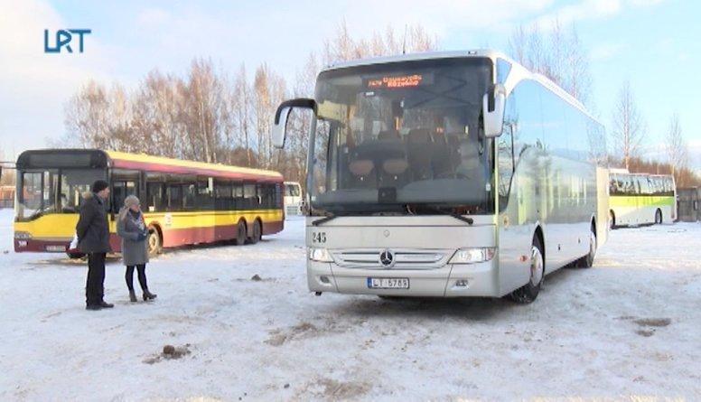 Daugavpils autobusu parku papildina divi jauni autobusi