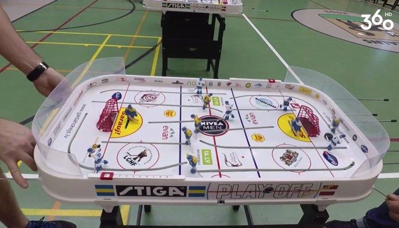 Vai galda hokejs bērniem ir piemērots?