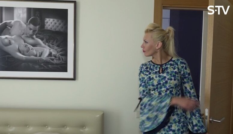 Personīgais kailfoto pie sienas liecina par to, ka vīrietis nav vīrišķīgs?