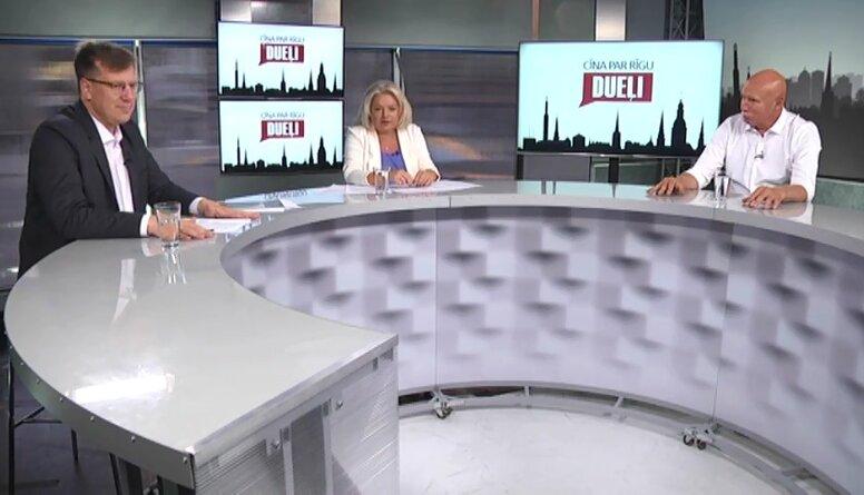 Priekšvēlēšanu duelis: Kosovičs/Apinis