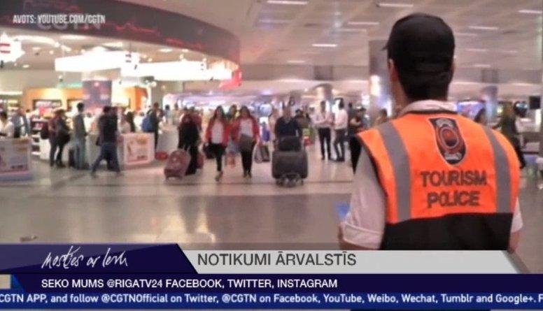 No 1. janvāra Turcija ieviesīs drošības nodevu tūristiem