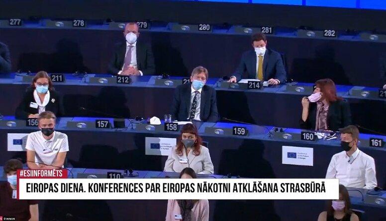 Speciālizlaidums: Eiropas diena. Konferences par Eiropas nākotni atklāšana Strasbūrā