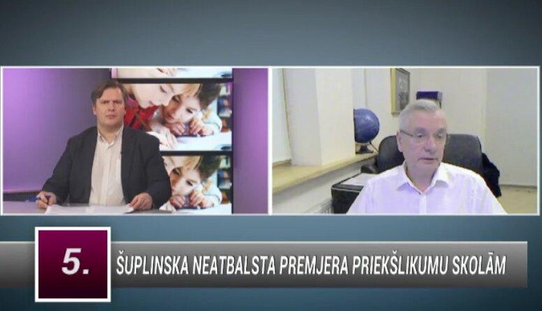 Šadurskis: IZM vajadzēja daudz nopietnāk gatavoties šai situācijai