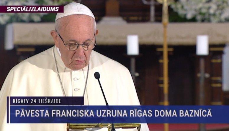 Speciālizlaidumi - Pāvesta Franciska vizīte Latvijā 1. daļa