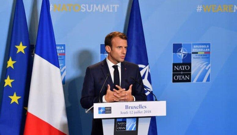 """Makrona izteikumi par """"NATO smadzeņu nāvi"""". Komentē Vaira Vīķe-Freiberga"""