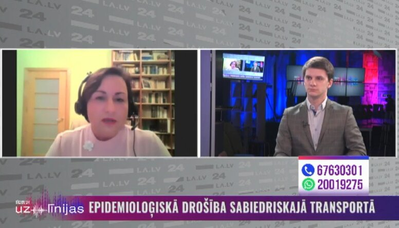 Epidemioloģiskā drošība Rīgas sabiedriskajā transportā