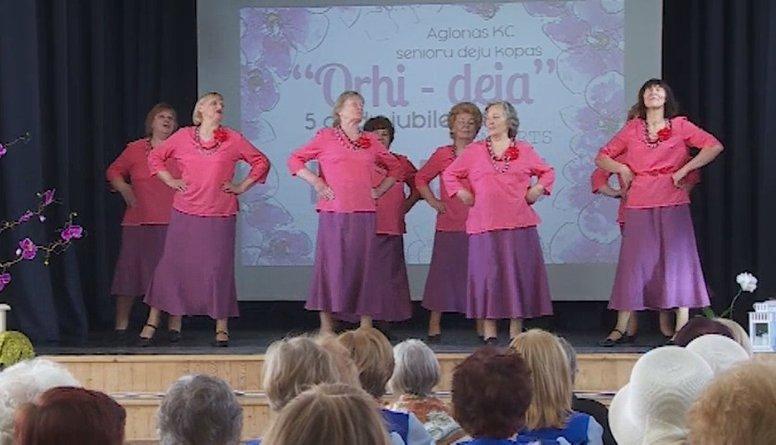 "Senioru deju kopai ""Orhi-deja"" - 5 gadu jubileja"
