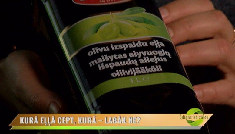 Kādēļ uztura speciāliste iesaka izvairīties no olīvu izspaidu eļļas lietošanas?