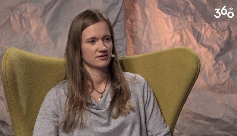 Ineta Mackeviča: Skvošs man ir pilna laika darbs...