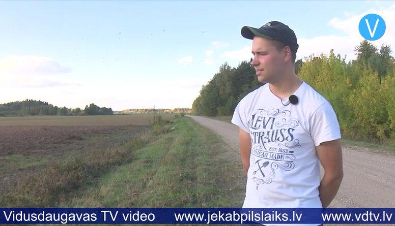 Salas novada lauksaimnieks turpina senču iesākto