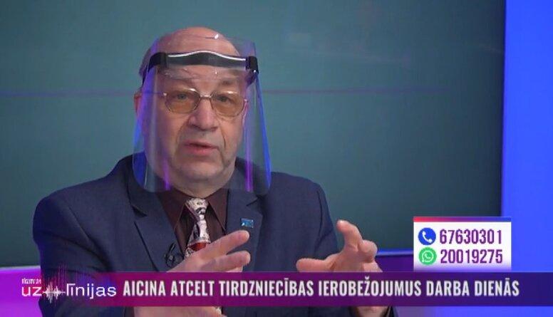 Henriks Danusēvičs par aicinājumu atcelt tirdzniecības ierobežojumus darba dienās