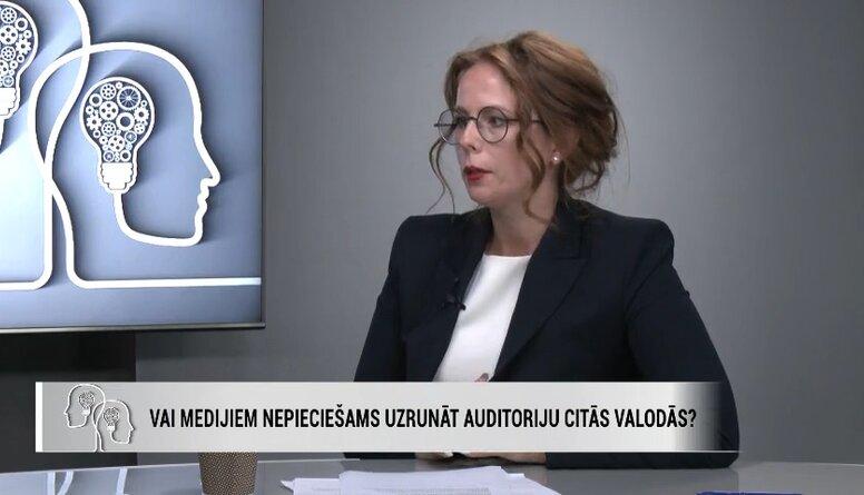 Meļķe: Galvenais ir noturēt krievvalodīgos skatītājus Latvijas informatīvajā telpā
