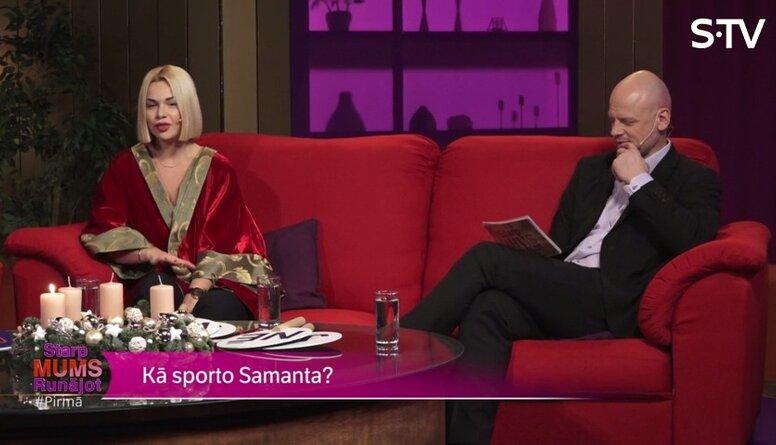 Vai Samantai Tīnai patīk skriet?
