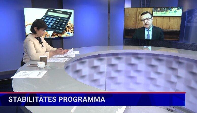 Jānis Reirs par stabilitātes programmu