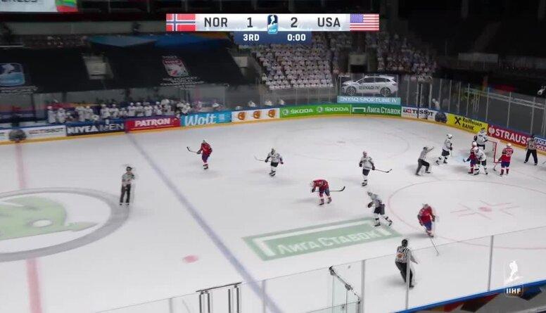 Spilgtākie momenti: Norvēģija pret ASV