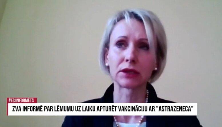 """Speciālizlaidums: ZVA informē par lēmumu uz laiku apturēt vakcināciju ar """"AstraZeneca"""""""