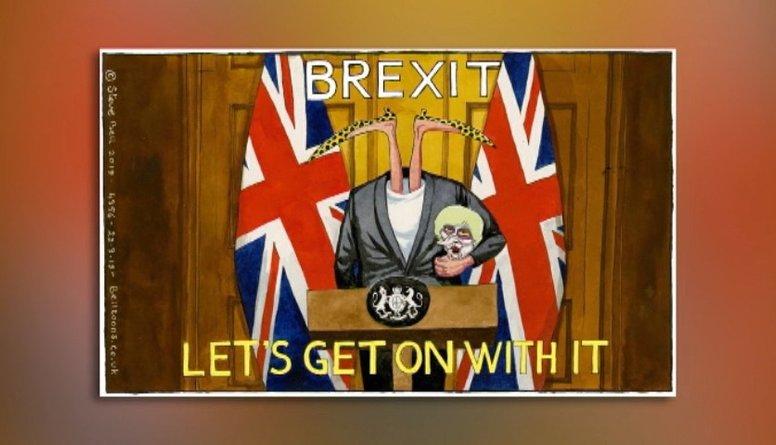 """Karikatūru apskats: Kas notiek ar """"Brexit""""?!"""