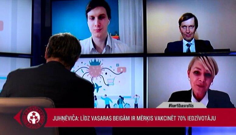 Eva Juhņēviča: Tiks veidoti arī nacionālā mēroga vakcinācijas kompleksi