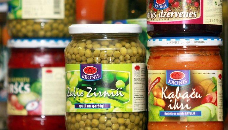 Veikalā izvēlies konservus ar samazinātu sāls un cukura daudzumu!