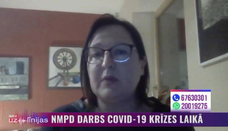 NMPD darbs Covid-19 krīzes laikā