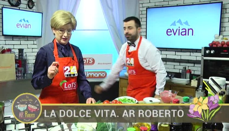 27.03.2017 La Dolce Vita. Ar Roberto 2. daļa
