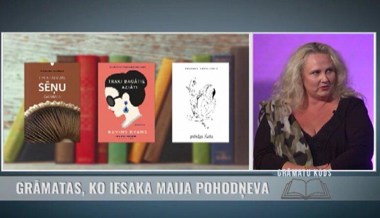 Grāmatas, ko iesaka rakstniece, žurnāliste Maija Pohodņeva