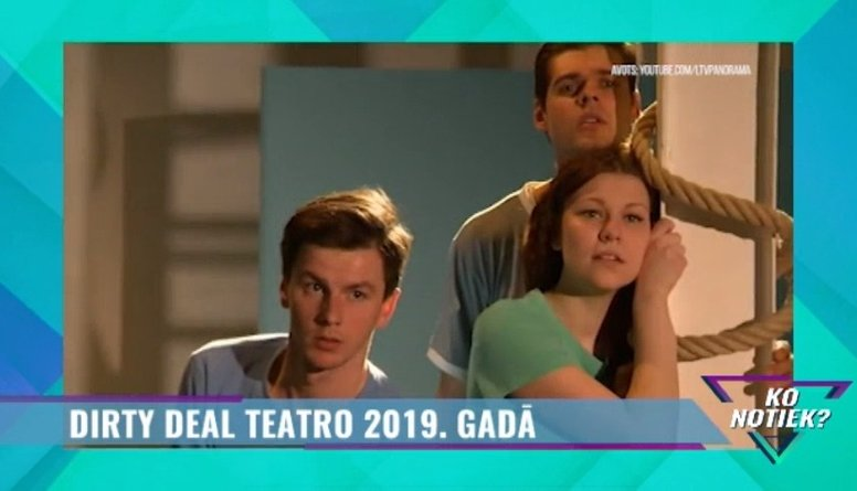 Kādus pārsteigumus 2019. gadā sagādās Dirty Deal Teatro?